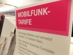 """Aufgrund der Abmahnung der Verbraucherzentrale Sachen, überarbeitet nun die Telekom ihre Mobilfunktarife - auch """"Call & Surf Comfort via Funk"""". Archivfoto: sor"""