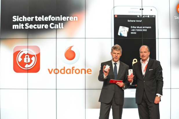 Secure Call: Vodafone zeigt erstes Hochsicherheits-Telefonat auf der IFA - Quelle: obs/Vodafone D2 GmbH