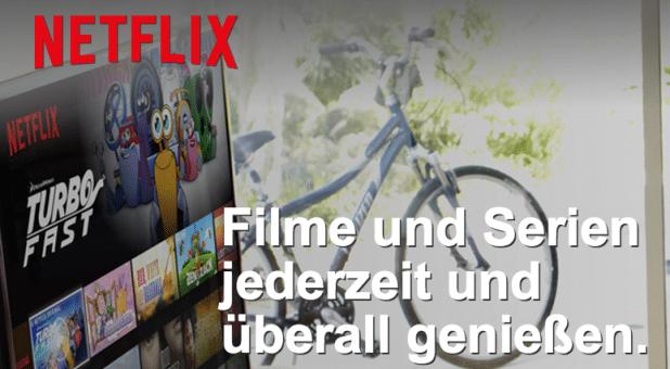 Netflix streamt nun auch in Deutschland. Spielfilme und Serien stehen auf der Tagesordnung.