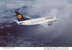 Internetzugang in Lufthansa-Flugzeugen.