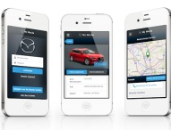 My Mazda App in neuem Design