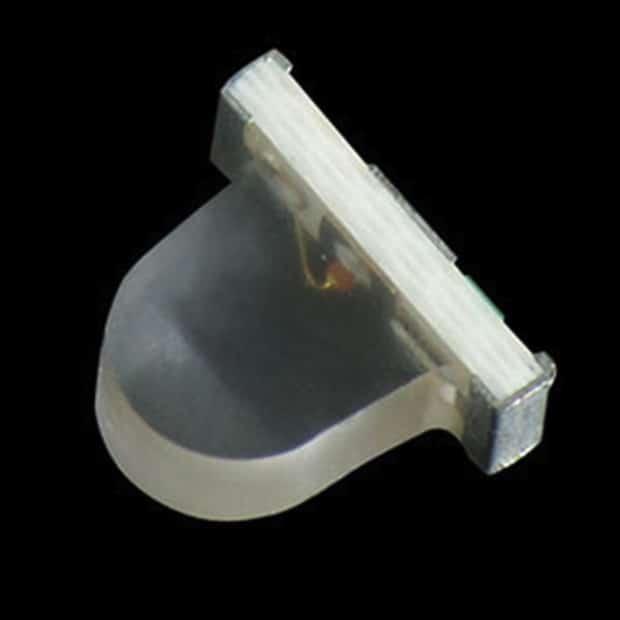 Bild: Neues von setron: Neue seitenstrahlende Dome Lens LED-Serie KPPA-3010 im 3,0 x 1,0 x 2,5 mm großen SMD-Gehäuse von Kingbright.