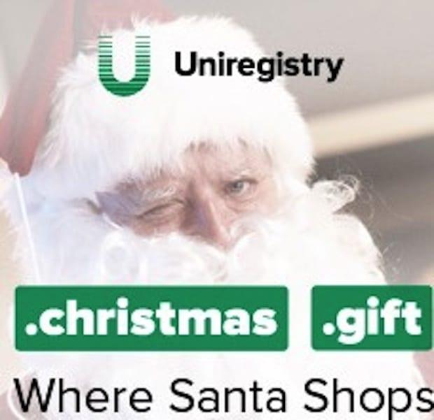 Bildunterschrift: Christmas-Domains - ein pfiffiges Geschenk für Weihnachten.