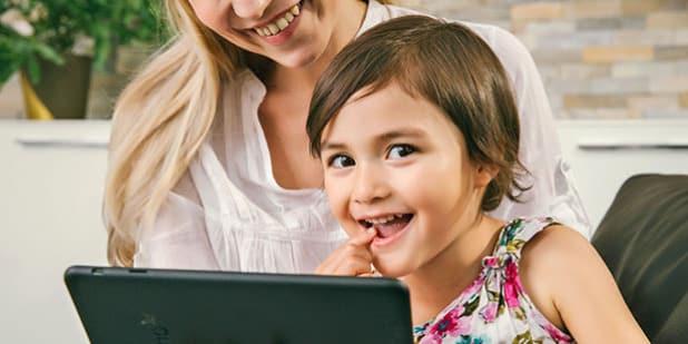Bei interaktiven Kinderbüchern kommen auch die Jüngsten auf ihre Kosten. Foto: djd/tolino