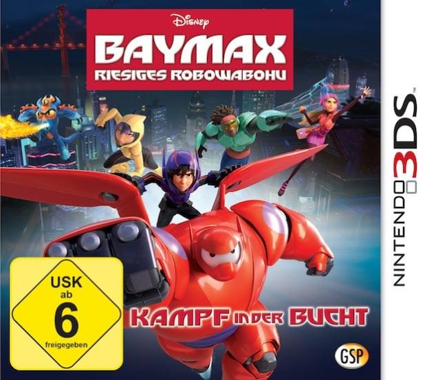 Bild: 3DS-Power zum Gabenfest: Disney Baymax - Riesiges Robowabohu.