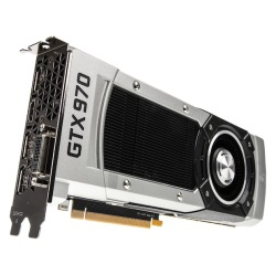Bildbeschreibung: Caseking GeForce GTX 970 Whisper Silent Edition, 4096 MB GDDR5.