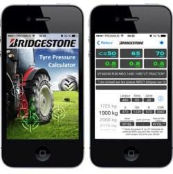 Bildunterschrift: Neue Bridgestone App für mehr Bodenschutz.