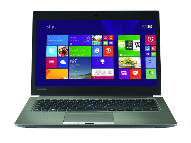 Bild: Toshiba Portégé Z30-A-1CR: Superschlankes Notebook mit intelligenter Business-Ausstattung.