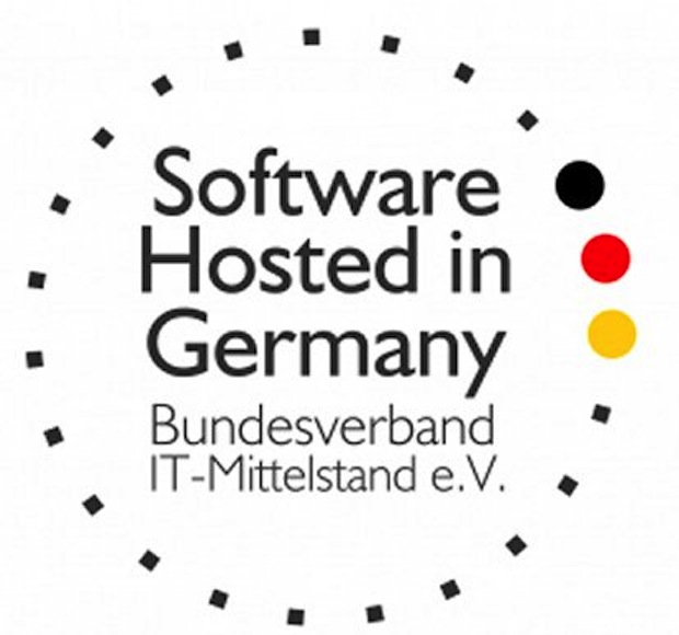 "Photo of Gütesiegel ""Software Hosted in Germany"" für Fasihi"