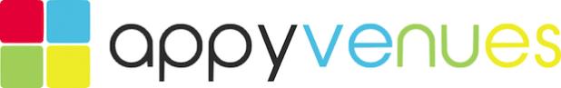 Bild: appyvenues Logo.