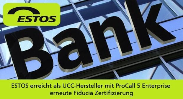 Photo of ESTOS erhält Fiducia Zertifizierung für ProCall 5 Enterprise