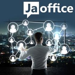 Bildunterschrift: JaOffice - die Social Intranet Software kann jetzt via Drag-n-Drop eingerichtet und individualisiert werden.