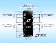 Konfigurierbarer 4-Kanal-8A-DC/DC-Abwärtsregler