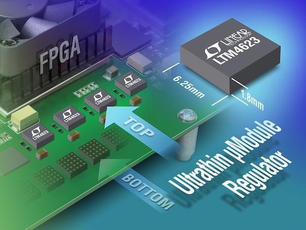 Photo of Neues von setron: LTM4623: Ultraflacher 3 A µModule-Regler