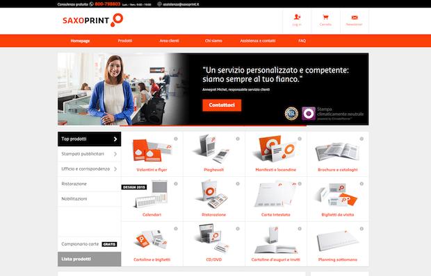 Photo of SAXOPRINT launcht Portal in Italien