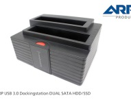 Blitzschnelle Backups mit neuen USB 3.0 Dockingstation DUAL SATA