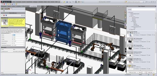 Photo of Lino® 3D layout auf der SOLIDWORKS World 2015