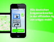 Offizielle Erdgastankstellen-App von erdgas mobil