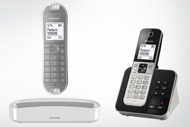 Photo of Panasonic Schnurlostelefone KX-TGK320 und KX-TGD310/320/322