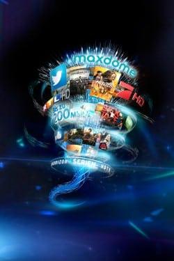 Ab April über Unitymedia erhältlich: Schnelles Internet, riesige TV-Vielfalt und ein attraktives maxdome-Paket mit tausenden Serienfolgen und Filmen - Foto: djd/Unitymedia.de.