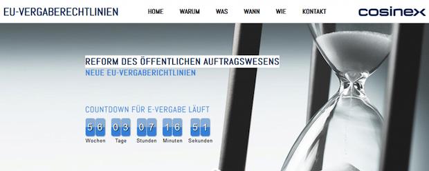 Photo of EUVergaberichtlinien.de