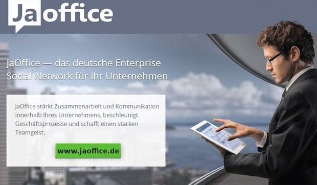 "Photo of Enterprise Social Networks – JaOffice gewinnt den INNOVATIONSPREIS-IT 2015 als ""Best of Communication"" Software"