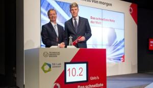 Vodafone präsentiert schnellstes Mobilfunknetz der Welt