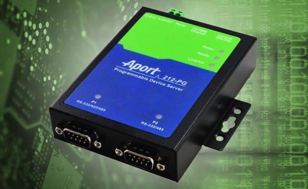 Bild: Seriell-Ethernet-Konverter Aport-212PG von Acceed. Quelle: OpenPR / acceed GmbH.