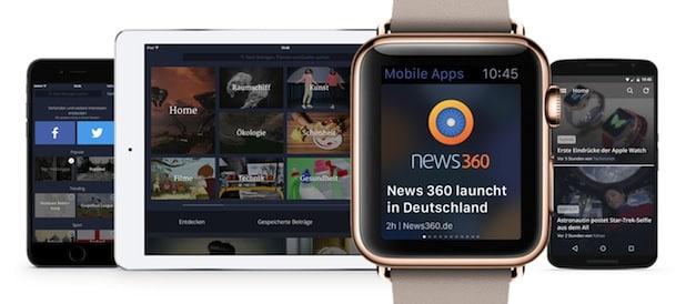 Photo of Personalisierte Nachrichten im Stream – auch auf der Apple Watch