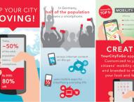 Neue City-App feiert Premiere – Auf dem Weltverkehrsforum 2015 stellt die PTV Group neue mobile Anwendungen für Städte und ihre Bürger vor