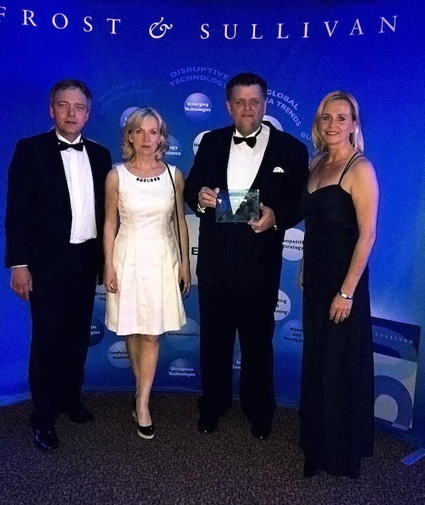 """Photo of SNT Deutschland AG ist """"Entrepreneurial Company of the Year in Contact Center Outsourcing in Europe"""""""