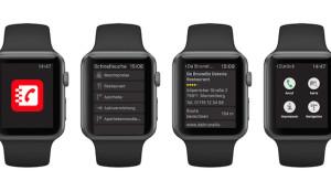 Das Telefonbuch präsentiert neue App für die Apple Watch Design trifft Nutzen