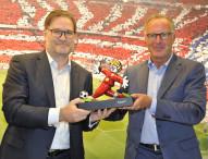 Gigaset: Platinum Partner des FC Bayern München