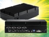 Lüfterloser Box-PC arbeitet von – 40°C bis +60°C !