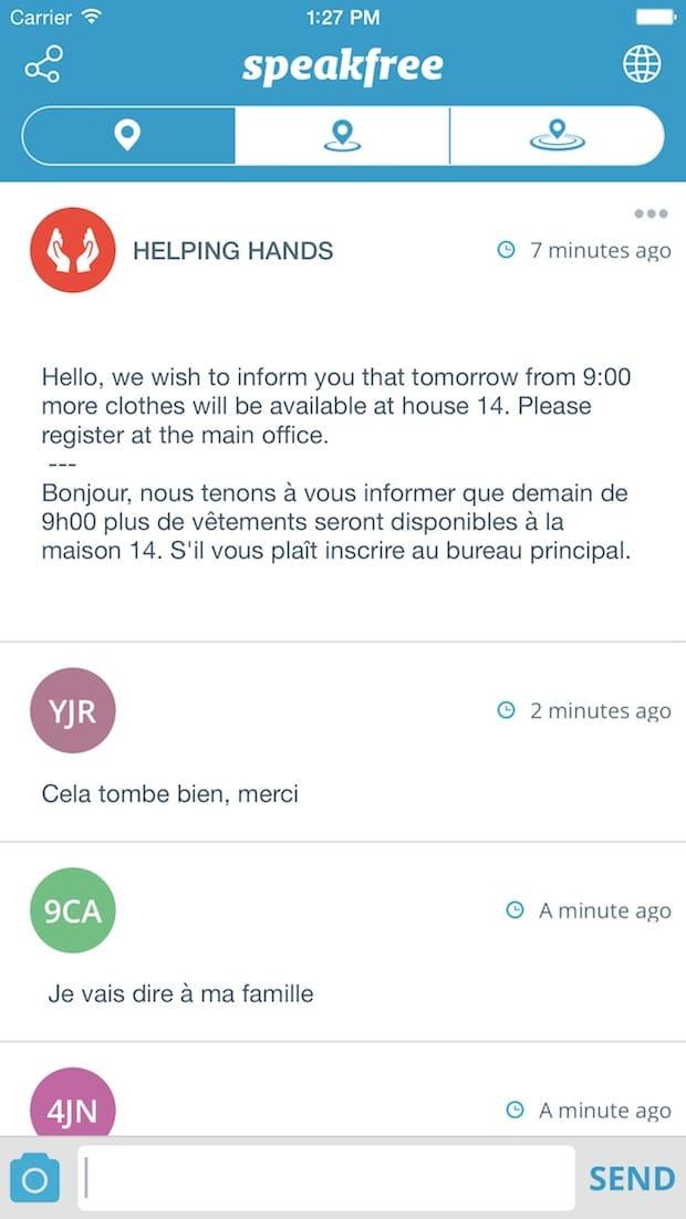 Photo of Instant Messaging-App speakfree unterstützt Hilfsorganisationen