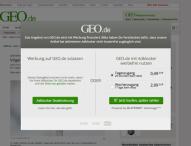 GEO.de testet LaterPay AdVantage mit Erfolg