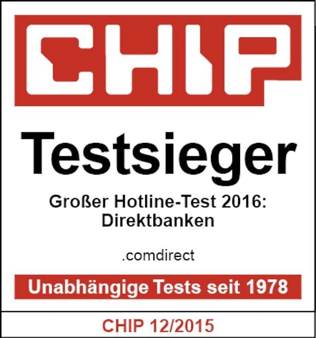Photo of CHIP Hotline-Test: Comdirect Bank klarer Spitzenreiter