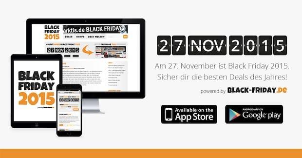 Photo of Die Black Friday 2015 App – Jetzt kostenlos im App Store und bei Google Play