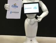 Costa Gruppe testet als erste Kreuzfahrtreederei den Einsatz von emotionalen Robotern an Bord von AIDA und Costa Schiffen