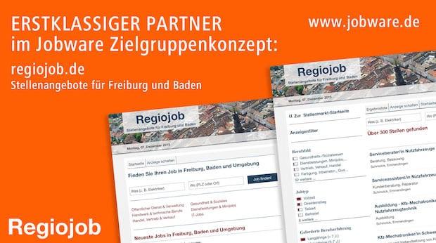 Photo of Regiojob vertraut im Stellenmarkt auf Jobware