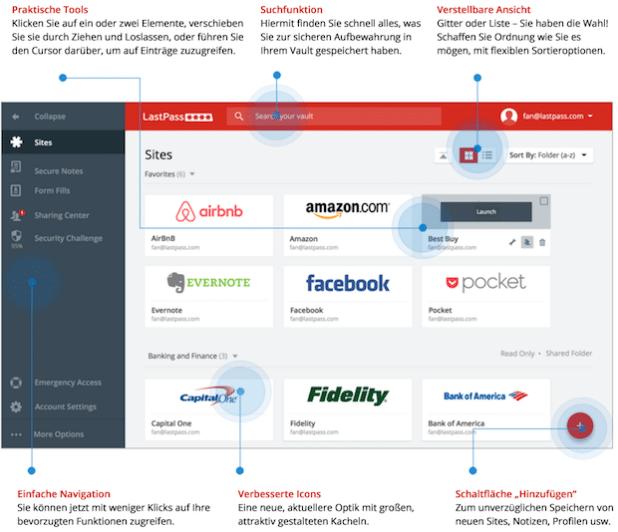Photo of Neue Benutzeroberfläche und verbessertes Passwortsharing mit LastPass 4.0