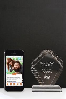 "Photo of IQ mobile gewinnt ""Show your App""-Award 2016"