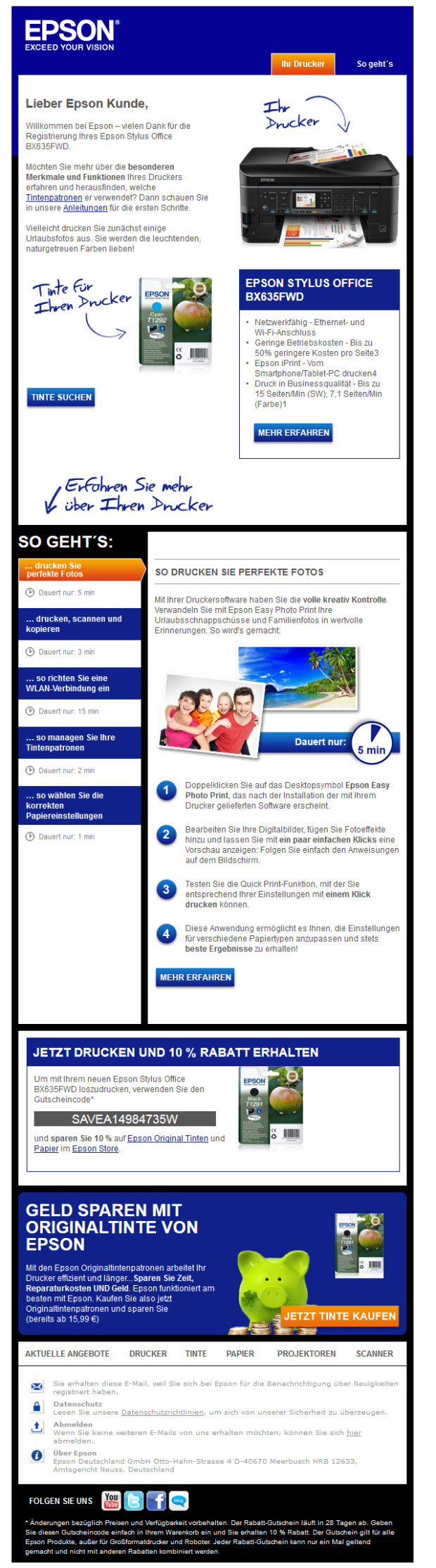 Photo of 23.400 Mailing-Varianten für Epson-Kunden