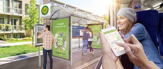 """Photo of TAF zeigt auf IT-TRANS """"Die grüne papierlose Haltestelle"""""""