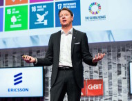 """Ericsson-CEO Vestberg auf der CeBIT: """"Der digitale Wandel braucht Hochleistungsnetze"""""""