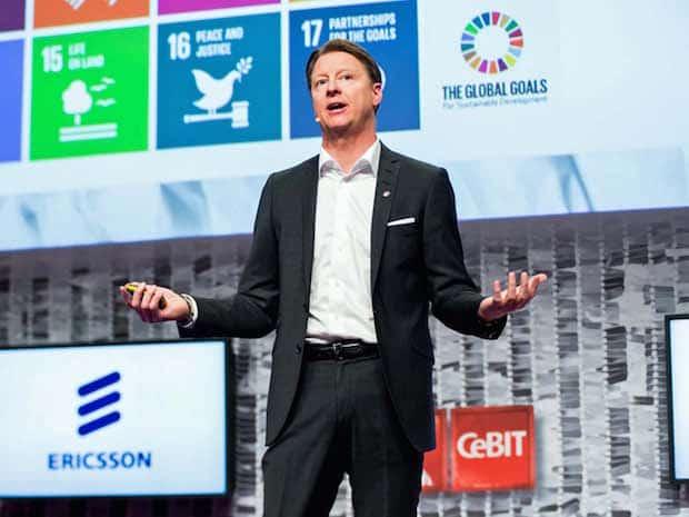 """Photo of Ericsson-CEO Vestberg auf der CeBIT: """"Der digitale Wandel braucht Hochleistungsnetze"""""""