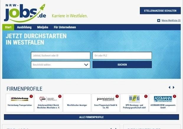 Photo of Westfälischer Anzeiger relauncht regionale Jobbörse