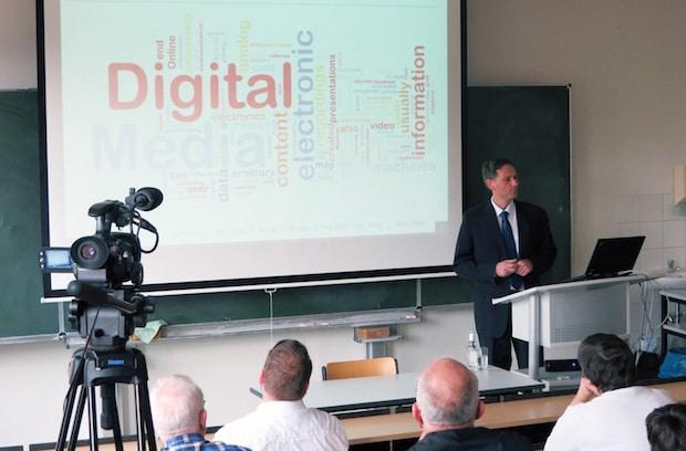 Photo of Über Risiken und Chancen des Digitalen Wandels – Antrittsvorlesung an der Hochschule Fresenius