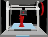 3D-Drucker stoßen in Deutschland auf großes Interesse