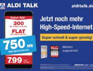 Super schnell und super günstig: ALDI TALK erhöht Datenvolumen in allen Paketen